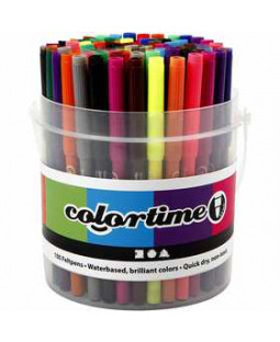 Colortime Tuscher 100 stk., ass. farver