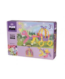 Plus-Plus Pastel 220 brk. 3- i-1 / Fairytale