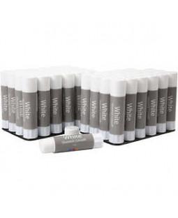 White limstift, 48x10 g