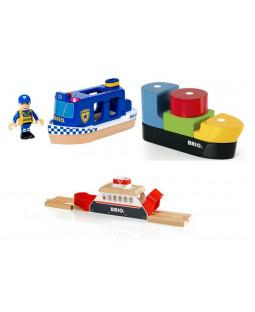 3 Brio både