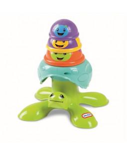 Stabel-skildpadde i plast