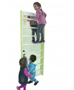Ribbe med spejl - 200 cm
