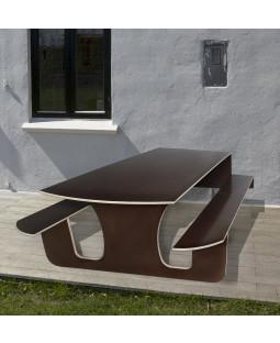 Udendørs klapbord i vandfast finer