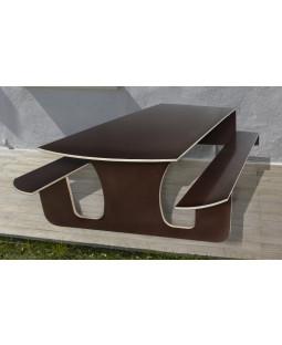 Udendørs klapbord i vandfast finer - 2 STK. JUBILÆUMSTILBUD