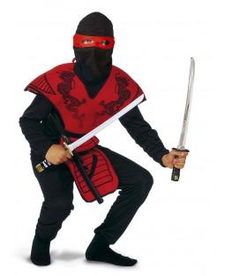 Ninja-kostume 140 cm