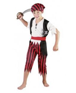 Pirat boy kostume
