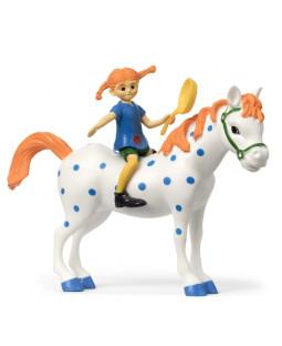 Pippi og Lille Gubben figursæt