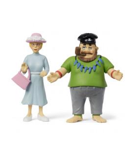 Pippis far & Frøkenen figursæt