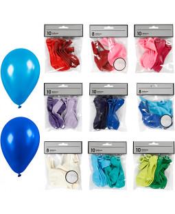 Balloner, ass. farver, 30pk