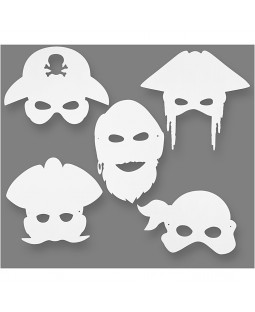 Piratmasker 16 stk.