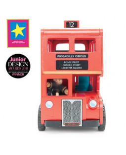 London dobbeltdækker bus