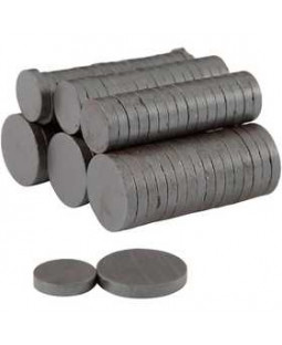 Magnet, dia. 14+20 mm, tykkelse 3 mm, 500 ass.