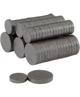 Magnet, dia. 14+20 mm, tykkelse 3 mm, 500 ass.