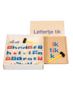 Hammermosaik med bogstaver