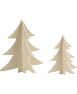 3D juletræer