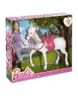 rytter med hest