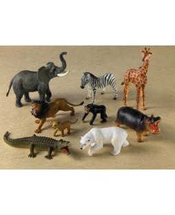Vilde dyr, 9 stk. schleich