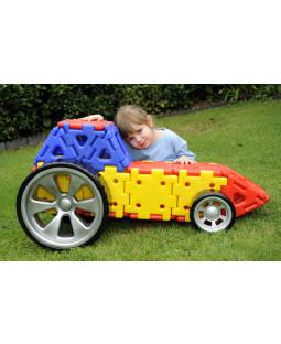 Polydron Kæmpe byggesæt: Byg din egen bil