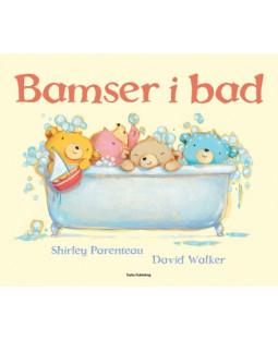 Bamser i bad, billedbog