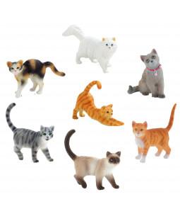 Bullyland - Katte, 6 stk.