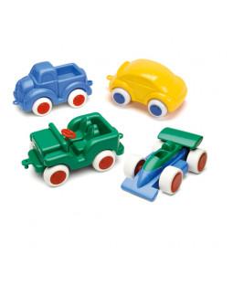 Biler med gummihjul