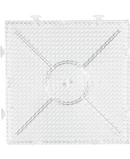Perleplader 15x15, transparent