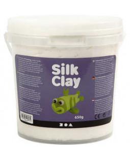 Silk Clay®, 650 g, hvid , hvid