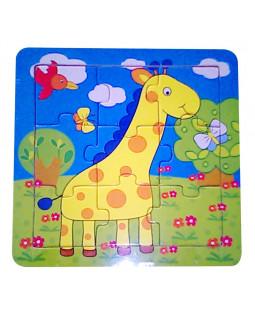 Puslespil giraf