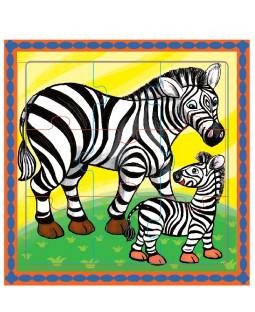 Puslespil, zebra