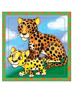 puslespil, leoparder