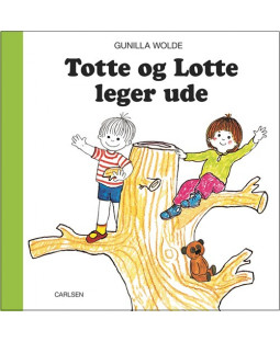 Totte og Lotte leger ude