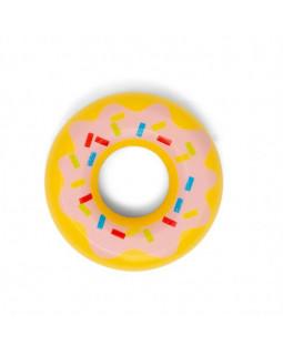 3 Donuts med pink glasur