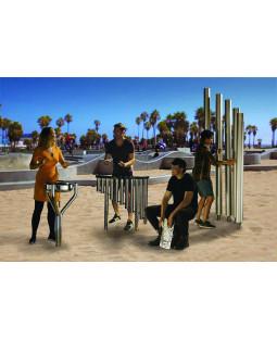 Street kvartet musiksæt