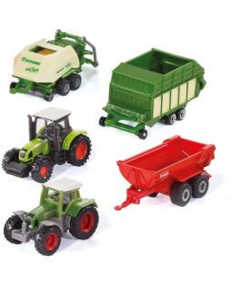 Siku landbrugsmaskiner, sæt med 5 stk.