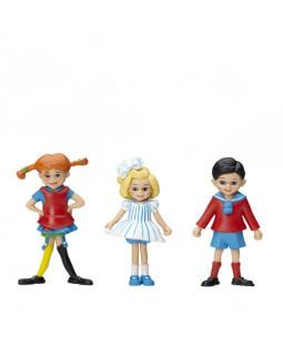 Pippi figursæt - Pippi, Tommy & Annika