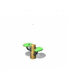 Robinia hoppestolper / legebord