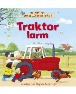 bondegårdshistorier - traktorlarm, bog