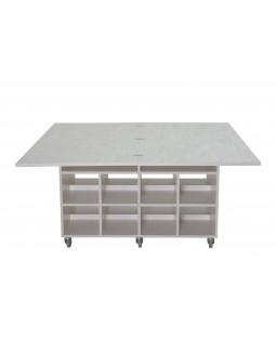 Multibord - grå laminat