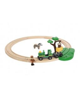 BRIO togbane safarisæt