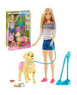 Barbie med hund
