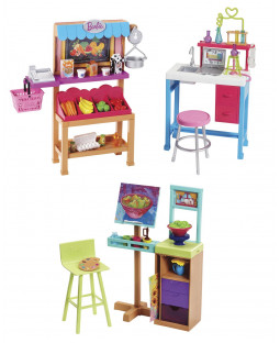 Barbie careers playset