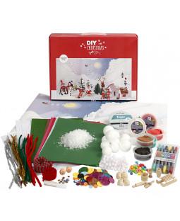 Materialesæt til julelandskab