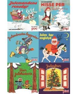 Pixi-Serie Jul, 6 bøger