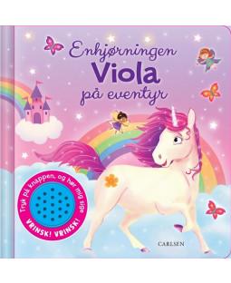Enhjørningen Viola på eventyr - sjov med lyd