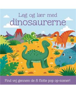 Leg og lær med dinosaurerne - Pop-op bog