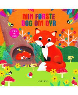 Min første bog om dyr - træk og skub