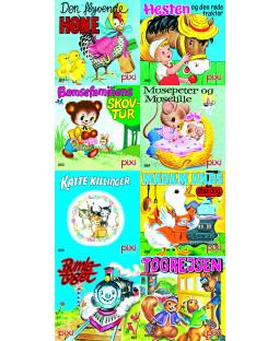 Pixi-serie Nostalgi, 8 bøger