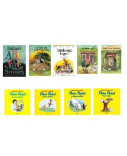 Ass bog pakke 3-6 år 9 bøger