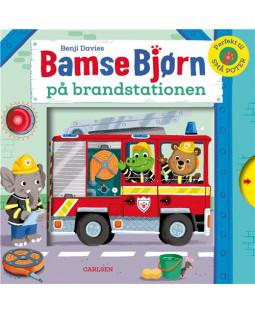 Bamse Bjørn på brandstationen