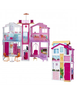 Barbie hus